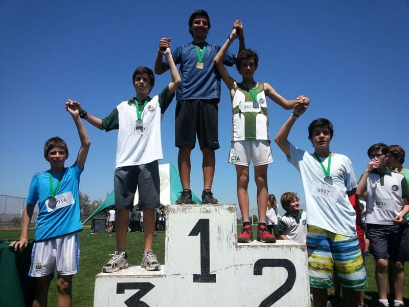 EXCELENTE CONVOCATORIA EN CROSS COUNTRY CSA